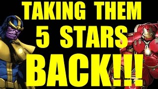 getlinkyoutube.com-MARVEL: Contest of Champions (iOS/Android) WE ARE TAKING OUR 5 STAR HEROES BACK!!!
