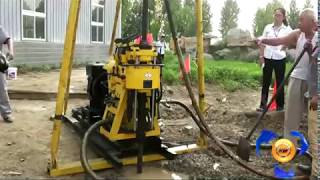 getlinkyoutube.com-Diesel Water Well Drilling Machine
