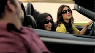 getlinkyoutube.com-Funny Ferrari + Audi R8 Exotic Car Rental Sexy Commercial TV Ad - Carjam TV 2013