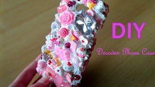 getlinkyoutube.com-DIY Kawaii Decoden Phone Case / Tutorial