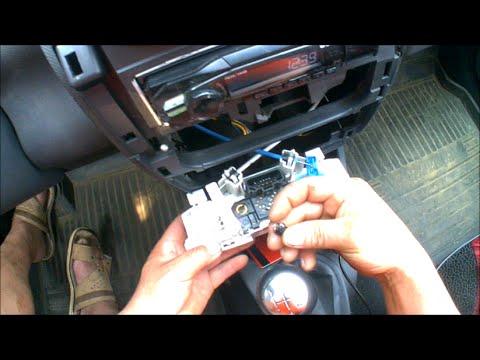 Замена ламп в панели на Renault Stepway