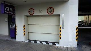 getlinkyoutube.com-Very awesome Mitsubishi traction car elevators @ Hotel AVANI Atrium Bangkok, Thailand