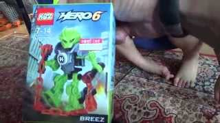 getlinkyoutube.com-ksz 히어로팩토리 브리즈 레고 짝퉁 미니 피규어를 조립하는 아이