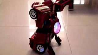 getlinkyoutube.com-Transformers Remote Control Car Latest model RC Car