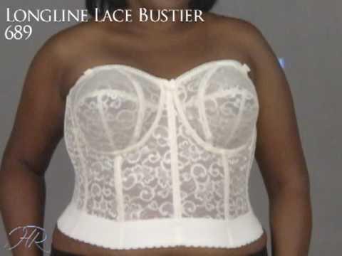 Goddess Lace Longline Bra 689