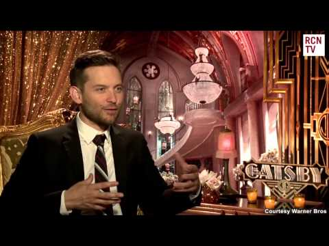 The Great Gatsby Tobey Maguire Interview