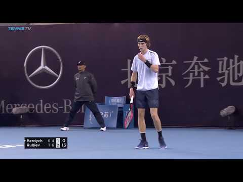 Andrey Rublev's forehand masterclass in Beijing | China Open 2017