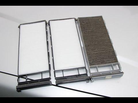 Как поменять салонный фильтр автомобиля NISSAN AVENIR