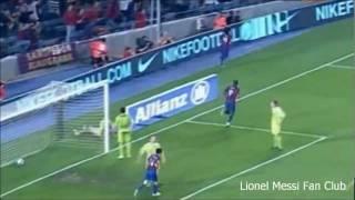 getlinkyoutube.com-Lionel Messi historical goal vs. Getafe