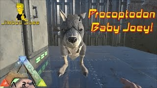 getlinkyoutube.com-ARK Survival Evolved Procoptodon (Kangaroo) Baby Joey