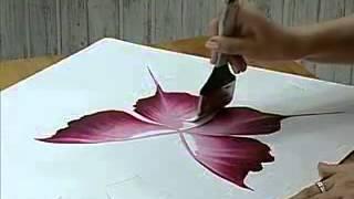 getlinkyoutube.com-رسم بالفرشه ورده