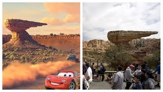 Cartoons Places in Real Life