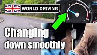 getlinkyoutube.com-How to change gear smoothly (down) in a manual / stick shift car
