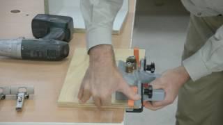 getlinkyoutube.com-ECODRILL use, and adjusting Blum hinges