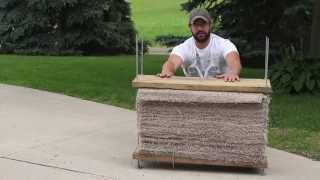 Make Your Own Carpet Archery Target