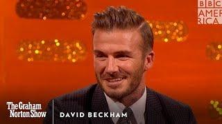 David Beckham Puts Brooklyn Beckham In His Place - The Graham Norton Show