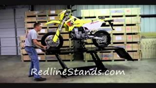 getlinkyoutube.com-Titan 1000L Motorcycle Lifting Table by Redline Engineering