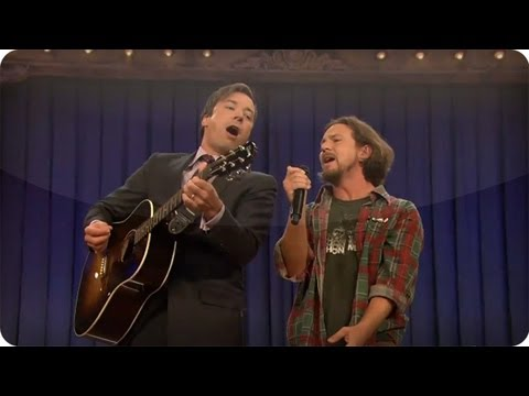 """Balls In Your Mouth"" With Jimmy Fallon & Eddie Vedder"