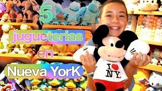 getlinkyoutube.com-Las 5 mejores jugueterías de Nueva York. The best toy stores in NY