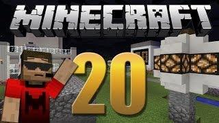getlinkyoutube.com-Iluminação com sensor de luz solar - Minecraft Em busca da casa automática #20