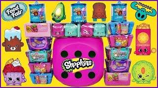 getlinkyoutube.com-SHOPKINS Hot Pink Dice Game All Seasons Opening + Food Fair and Fashion Spree