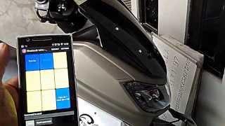 getlinkyoutube.com-DIY | Yamaha NMax controlled by android smartphone.