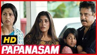 getlinkyoutube.com-Papanasam | Police investigation Scene | Police enquiry Scene | Kamal Haasan | Goutami
