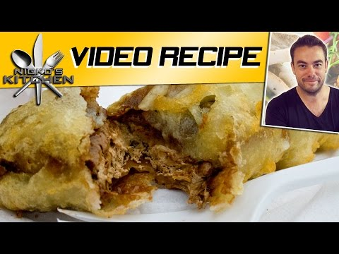 DEEP FRIED SNICKERS BAR - VIDEO RECIPE