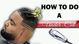 getlinkyoutube.com-Barber Tutorial: How To Do A Under Cut With Parts HD