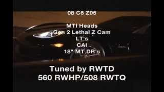 getlinkyoutube.com-2 Heads & Cam C6 Z06's vs 402 C6 Z06, 5.4/Vortech/N20 GT vs 402 Z06 & ZX636 etc