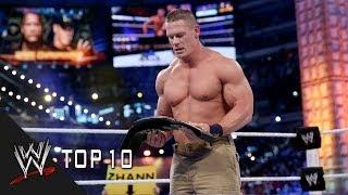 getlinkyoutube.com-WrestleMania Championship Changes - WWE Top 10
