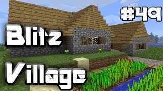 BLITZVILLAGE - MInecraft - Episode 49 - HOSPITAL BUILT!