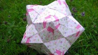 getlinkyoutube.com-Origami ❃ Chandelle ❃ Kusudama
