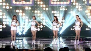 getlinkyoutube.com-[HD 4K] KARA - Mamma Mia + Apink - LUV + AOA - Like a Cat -  SBS Super 5 Gayo Daejun Show 2160P