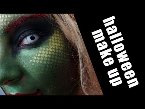 HALLOWEEN: Snake/Medusa Make-Up tutorial
