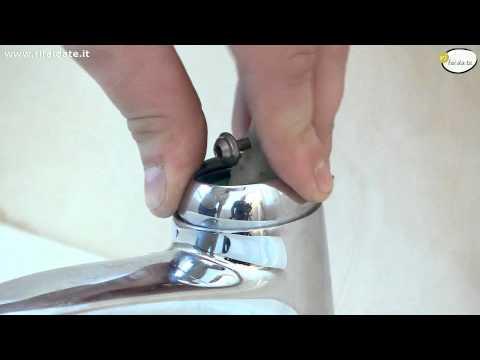 Come smontare un rubinetto a miscelazione fai da te mania - Miscelatore cucina perde acqua ...