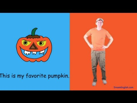 Pumpkin Halloween Dance Song for Kids