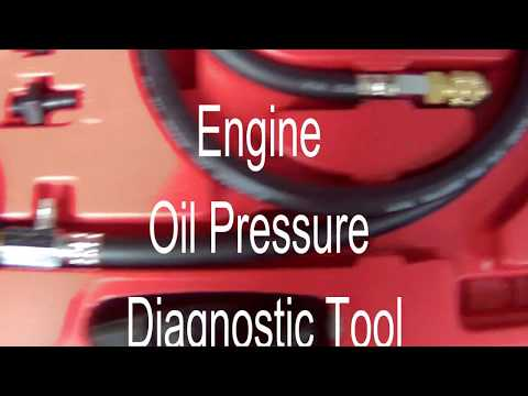 Engine Oil Pressure Diagnostic Tool