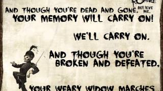 getlinkyoutube.com-Welcome To The Black Parade - My Chemical Romance Lyrics
