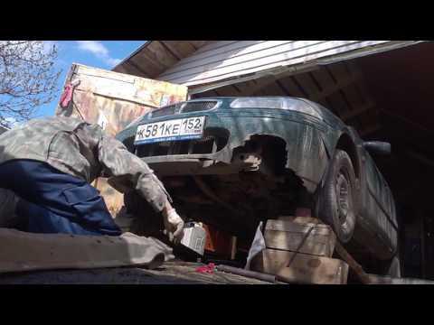 Rover 214i Замена резинок опоры стойки амортизатора, аналог резинок