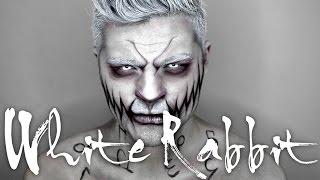 "getlinkyoutube.com-White Rabbit ""Alice in Wonderland"" | Halloween Makeup Tutorial | Alex Faction"