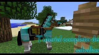 getlinkyoutube.com-Minecraft tutorial: Todo sobre caballos (como domar, criar...) - Minecraft 1.8/1.9/1.10