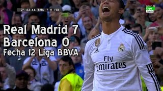 getlinkyoutube.com-Real Madrid 7 Barcelona 0 - Liga BBVA Fecha 12 (Parodia)