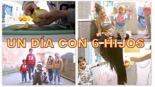 getlinkyoutube.com-VLOG DIARIO / PRIMEROS PASOS de Eider + CORTE de PELO EXTREMO + AIMAR tiene una FAN  (MELLIZAS 12 m)