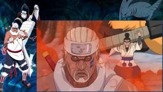 getlinkyoutube.com-Naruto Shippuden   Kisame vs Killer Bee   Naruto Crossover   Naruto Hulu