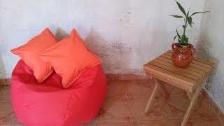 getlinkyoutube.com-Arma tu sala puff. Fundas para sillón puff de 90cm y 120cm.