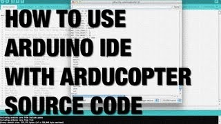getlinkyoutube.com-ArduPilot ArduCopter Source Code Compile, Upload, and CLI with APM 2.5 using Arduino IDE