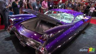 getlinkyoutube.com-Custom 1959 Cadillac Coupe De Ville at SEMA 2010