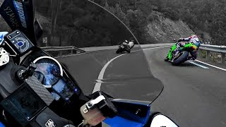 getlinkyoutube.com-Blind Cornering !!!