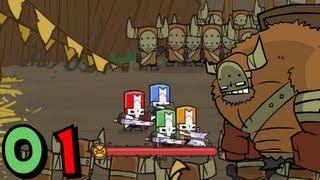 getlinkyoutube.com-Castle Crashers (Co-op) - Episode 01